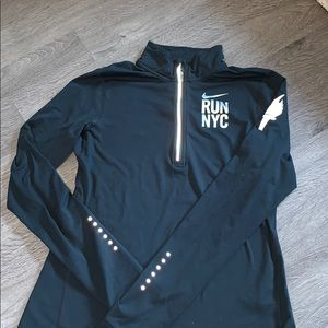 Nike running quarter zip